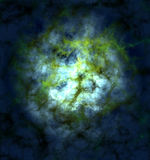 Colorful space  star nebula Royalty Free Stock Photo