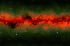 Colorful space  star nebula. Colorful space the star nebula Stock Photography
