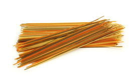 Colorful  spaghetti Royalty Free Stock Photography