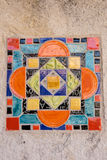 Colorful Spanish Tile Stock Image