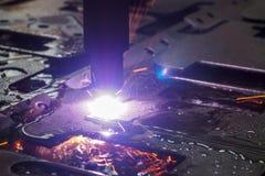 Colorful sparks plasma. Stock Photo