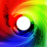 Colorful spectrum Stock Photo