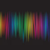 Colorful spectrum. Vector - Colorful spectrum for background abstract use Stock Photography