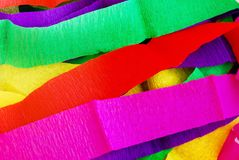 Colorful spectrum mulberry paper background Royalty Free Stock Image