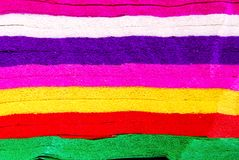Colorful spectrum mulberry paper background Royalty Free Stock Photo