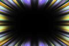 Colorful speed blur border Stock Images