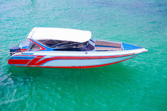Colorful speed boat Stock Photography