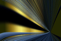 Colorful Speed Light Streaks Lines. Colorful yellow & blue speed light streaks lines background wallpaper Stock Images