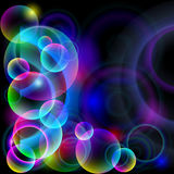 Colorful spheres. Royalty Free Stock Photography