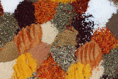 Colorful spice mix Royalty Free Stock Image