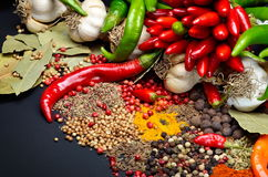 Free Colorful Spices Royalty Free Stock Photo - 34366125