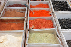 Colorful spices Stock Photo
