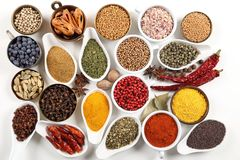 Colorful spices. Royalty Free Stock Photos