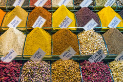 Colorful spices at the Spice Market Royalty Free Stock Photo