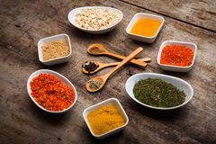 Colorful spices Royalty Free Stock Photography
