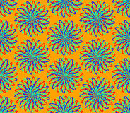 Colorful spin pattern Royalty Free Stock Photo