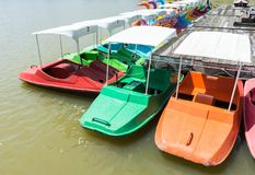 Colorful spinning boat Stock Photography