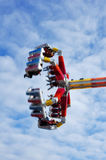 Colorful Spinning Carnival Ride Royalty Free Stock Photo