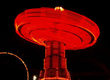 Colorful Spinning Ride Royalty Free Stock Photography