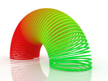 Colorful spiral Stock Image