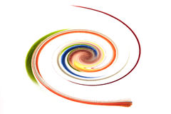 Colorful spiral. Can be used as logo Stock Photo