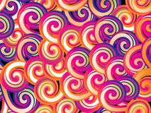 Colorful spiral background Stock Photo