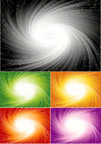 Colorful spiral background Stock Photos