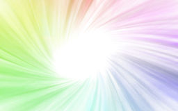 Colorful Spiral Design Stock Images
