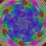Colorful spiral fractal design background Royalty Free Stock Photo