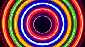 Colorful Spiral Lights Background Abstract Stock Images