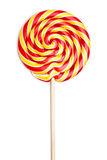 Colorful spiral lollipop Stock Image