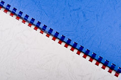 Colorful spiral notebooks Stock Images