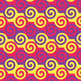 Colorful Spiral Pattern. Royalty Free Stock Image