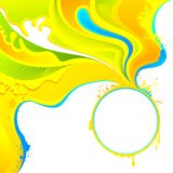 Colorful Splash Stock Image