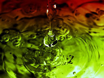 Colorful splash Stock Photography