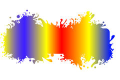 Colorful splash. Abstract vector illustration Stock Photo