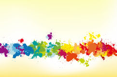 Colorful splash background Stock Photography