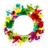 Colorful splash background Stock Images