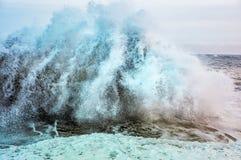Colorful splash of waves close-up Royalty Free Stock Photo