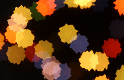 Colorful splashes. Abstract background with colorful round splashes on black Royalty Free Stock Photos