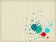 Colorful splats background Royalty Free Stock Photos