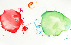 Colorful Splatters Royalty Free Stock Images
