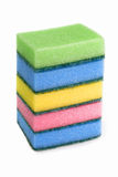 Colorful sponge Royalty Free Stock Images