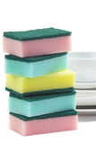 Colorful sponge Royalty Free Stock Photos