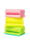 Colorful Sponge Scourers Royalty Free Stock Photo