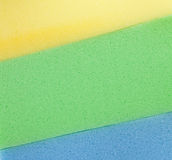Colorful  sponge texture Royalty Free Stock Photography