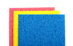 Colorful sponge Royalty Free Stock Image