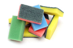 Colorful sponge Royalty Free Stock Photo