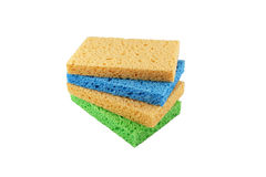 Colorful Sponges Stock Photo