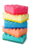 Colorful sponges Royalty Free Stock Photo